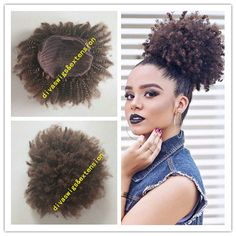 7A 100% Human hair clip ponytail straight/body/deep/ kinky curl blond corlor ponytail hair extension wholesale price