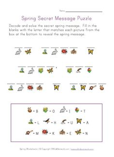 Decoder Puzzle - Good for visual perception deficits. Also good are dot to dot, what's same/different, mazes, color by number/shape, word search, crossword puzzle - all these are good for those with visual perception deficits - just make sure the task is