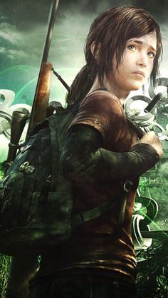 The last of us Ellie///. <----- yeah yeah this games bad ass and the main character is named Ellie.