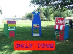 Ugly Town - Ugly Dolls Birthday Party