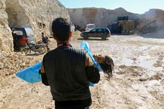Dozens of people including children were killed in the assault, one of the worst atrocities in the Syria conflict since President Trump took office.