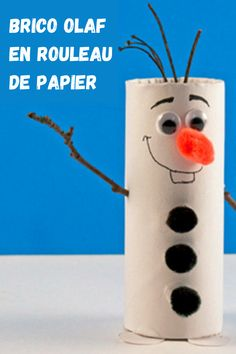 Olaf, Snowman, Disney Characters, Creative, Crepe Paper, Wraps, Toilets, Snowmen