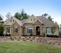 Luxurious European Home Plan - 24346TW | European, Southern, Luxury, Photo Gallery, Premium Collection, 1st Floor Master Suite, Butler Walk-in Pantry, CAD Available, Den-Office-Library-Study, Drive Under Garage, Loft, Media-Game-Home Theater, Multi Stairs to 2nd Floor, PDF, Wrap Around Porch, Corner Lot, Sloping Lot | Architectural Designs