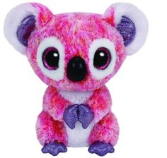 TY Plush Animals Beanie Boos Kacey Pink Koala Bear Toys Ty Big Eyes Stuffed Animals Cute Soft Toys for Children Gifts Ty Stuffed Animals, Plush Animals, Stuffed Toy, Ours Boyds, Ty Beanie Boos Collection, Ty Peluche, Ty Babies, Beanie Babies, Ty Toys