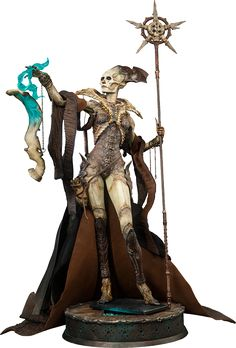BLOG DOS BRINQUEDOS: The Great Osteomancer Court of the Dead Premium Fo...