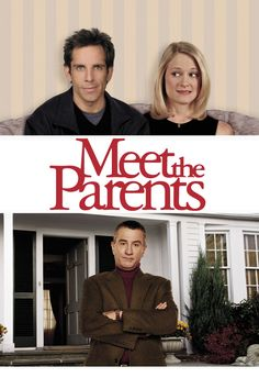 Meet The Parents (2000) a film by Jay Roach + MOVIES + Ben Stiller + Robert De Niro + Teri Polo + Blythe Danner + Nicole DeHuff + cinema + Comedy + Romance