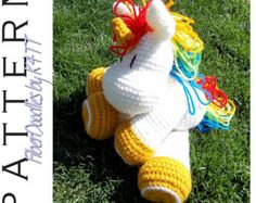 INSTANT DOWNLOAD : KISS Series  Cow Crochet von FiberDoodlesbyK4TT
