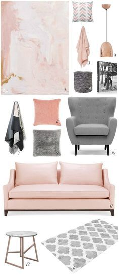 Blush - the colour on everyone cheeks has definitely transitioned its way into fashion and homes over the past few months. Mixed with moody hues like grey or charcoal it's a colour that is soft eno...
