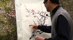 Plum Blossom: an Expressive Plein Air Painting Tutorial(HD) with Henry L...