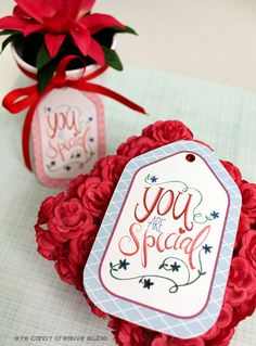 Printable You Are Special Gift Tags