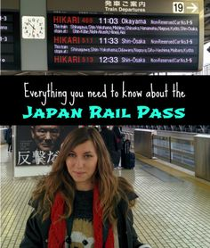 Everything you need to know about the Japan Rail Pass #japantravel