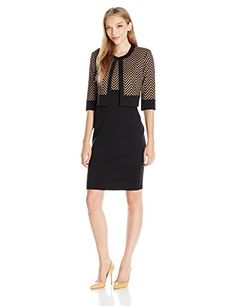 New Danny and Nicole Women's Petite Two Piece Chevron Print Jacket With 2fer Dress online. Find great deals on AxParis Dresses from top store. Sku dwvn29384wvgv91231