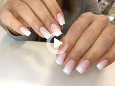 Ombre Nail Colors, Purple Ombre Nails, Pink Nails, Sugar Effect, Gel Uv, White Ombre, One Piece, Trendy Nails, Mint Green