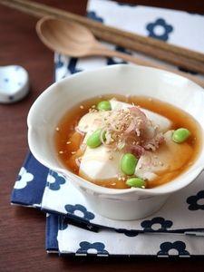 すくい豆腐の冷やし生姜あん。 by 栁川香織(Cho-coco)さん / レシピサイト「ナディア/Nadia」/プロの料理を無料で検索