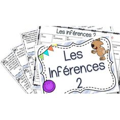 Les inférences 2 - Cartes à tâches ! Classroom Procedures, Classroom Organization, Classroom Ideas, French Immersion, Literacy Stations, Class Activities, Teaching French, Best Teacher, Teaching Reading