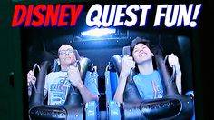 Our Day at Disney Quest | Vlog with Keepin' It Relle
