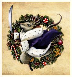The Nutcracker's Mouse King Christmas stationary