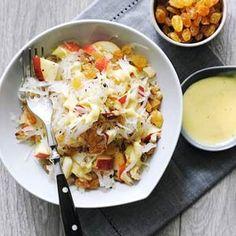 Recept - Zuurkoolsalade met appel en walnoten - Allerhande