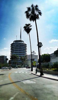 Capitol Records Building, LA
