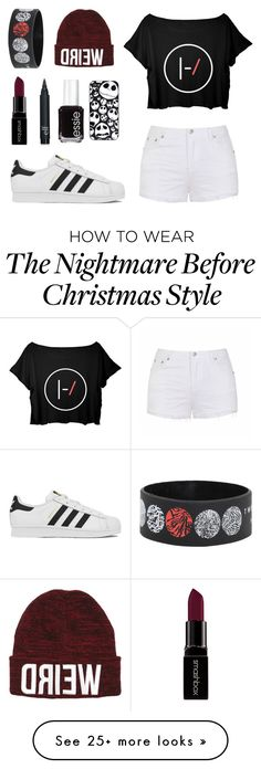 """82"" by miss-arianne on Polyvore featuring Ally Fashion, adidas, Smashbox, Essie, women's clothing, women, female, woman, misses and juniors"