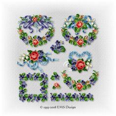 "Set ""Roses and Violets"" - Vol. 1"