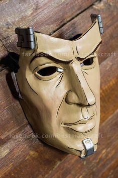 inspired Handsome Jack mask Borderlands the game por Maskforsale