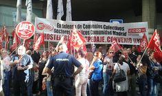 REDACCIÓN SINDICAL MADRID: UGT reclama mejorar las condiciones laborales en e...