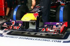 Round 3, UBS Chinese Grand Prix 2013, Practice, Front Wing Detail, Infiniti Red Bull Racing