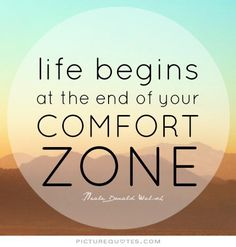 How Comfortable Are YOU in your Own Comfort Zone?