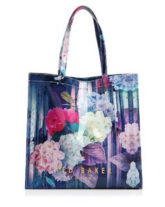 Ted Baker Hydrangea Haze Large Icon Tote | Bloomingdale's