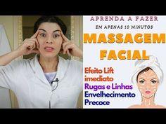 Massagem facial japonesa que fará você se sentir 10 anos mais jovem | Natureba - Curas Naturais - YouTube