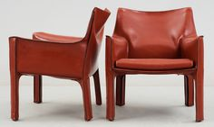 #Cab Lounge Chair + Settee Mario #Bellini #Cassina, Italy