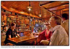 Mulligans Irish Pub Geneva, Switzerland.