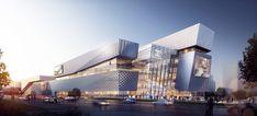 Aedas - Project - The Heart of Yiwu, An Urban Living Plaza