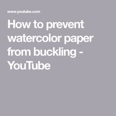 How to keep watercolor paper from warping? How to keep the watercolor paper flat after the painting is finished? What are the simple solutions to prevent wat. Art Lessons, Pastel Paper, Painting Subjects, Art Tips, Art, Watercolor Paper, Painting Lessons, Folk Art Painting, Watercolour Tutorials