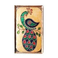 Decorative Wall Pieces,Made In India,Wall Plaque - Peacock