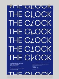 BorisMeister-ChristianMarclay-TheClock-TheClock-poster