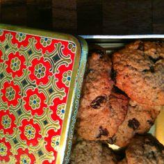 Chewy havermout koekjes met rozijn
