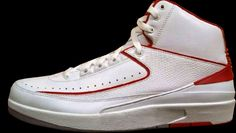 5c89a54a8b25ad Air Jordan 2 Retro White Black-Varsity Red-Cement Grey. Share more
