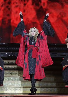 Express Yourself: Madonna launched a rant at fans on Monday night after taking to the stage at Manchester Arena an hour late Recital, Verona, Madonna, Monday Night, Music Industry, Mars, Manchester, Famous People, Singers