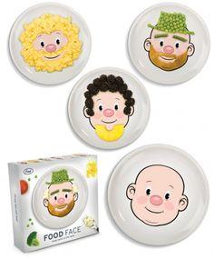 Jason Amendolara's face plates for fussy eaters