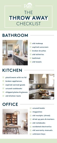 Make 2018 a fresh start! Don't let clutter get in your way in the New Year. Use this checklist to help you clean up and throw away unneeded household items so you can focus on the important things. | Pulte Homes