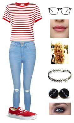 """""""#ootd"""" by mizz-thang on Polyvore featuring Miss Selfridge, New Look and Vans"""