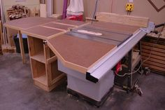 Table Saw Extension Table System - by WistysWoodWorkingWonders @ LumberJocks.com ~