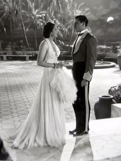 """Kay Francis Errol Flynn """"Another Dawn"""" 1937"""