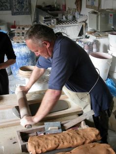 Azulejos de Azeitao, Stretch the clay