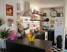 High Quality Rockabilly Home Rockabilly Home Decor, Colorful Apartment, Retro Home Decor,  Diy Home Decor