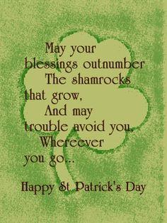 Luck of the Irish!!
