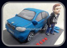 Todo su grupo de amigos le han regalado a Marcos este BMW, para celebrar su décimo octavo cumpleaños#18th #mayoriadeedad