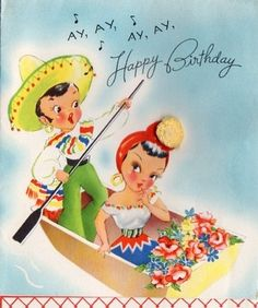 birthday for him Happy Birthday To You, Singing Happy Birthday, Happy Birthday Quotes, Happy Birthday Images, Birthday Messages, Birthday Pictures, Birthday Fun, Vintage Birthday Cards, Vintage Valentine Cards